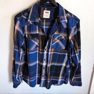 Men's Levi's Button Up Flannel